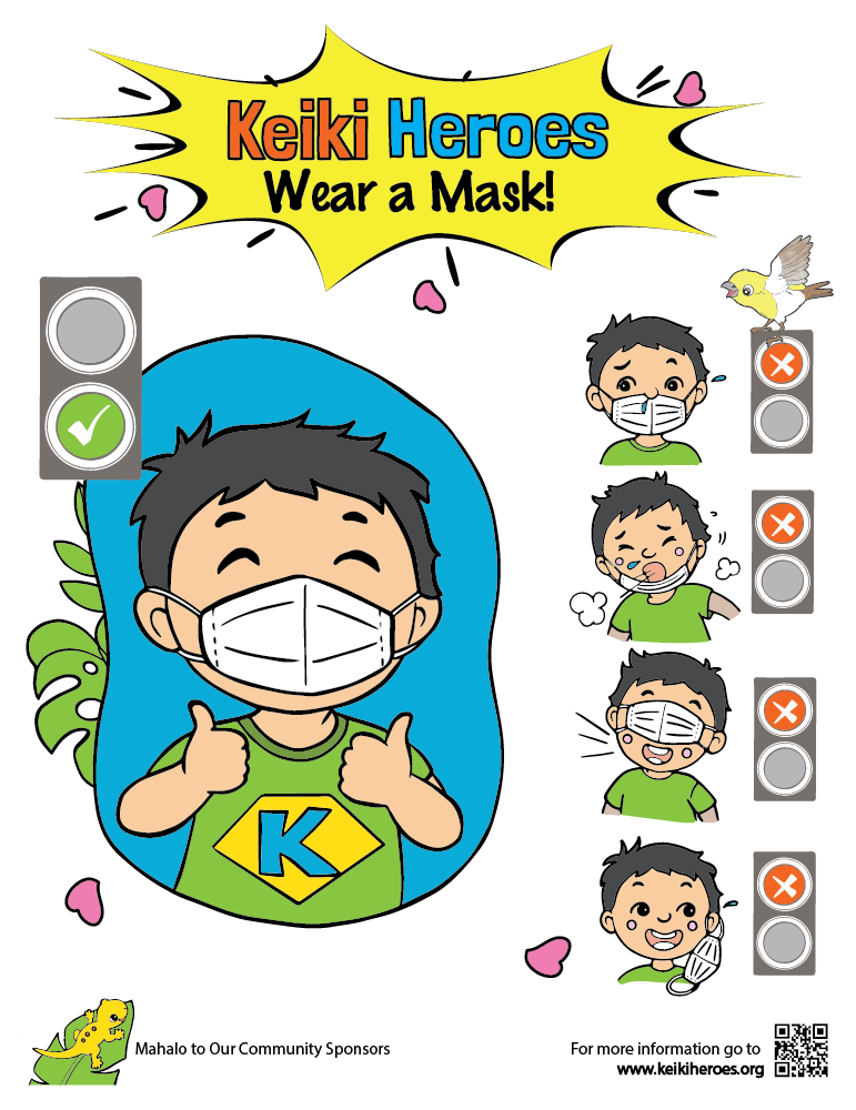 Wear A Mask 11″x17″ Color Poster