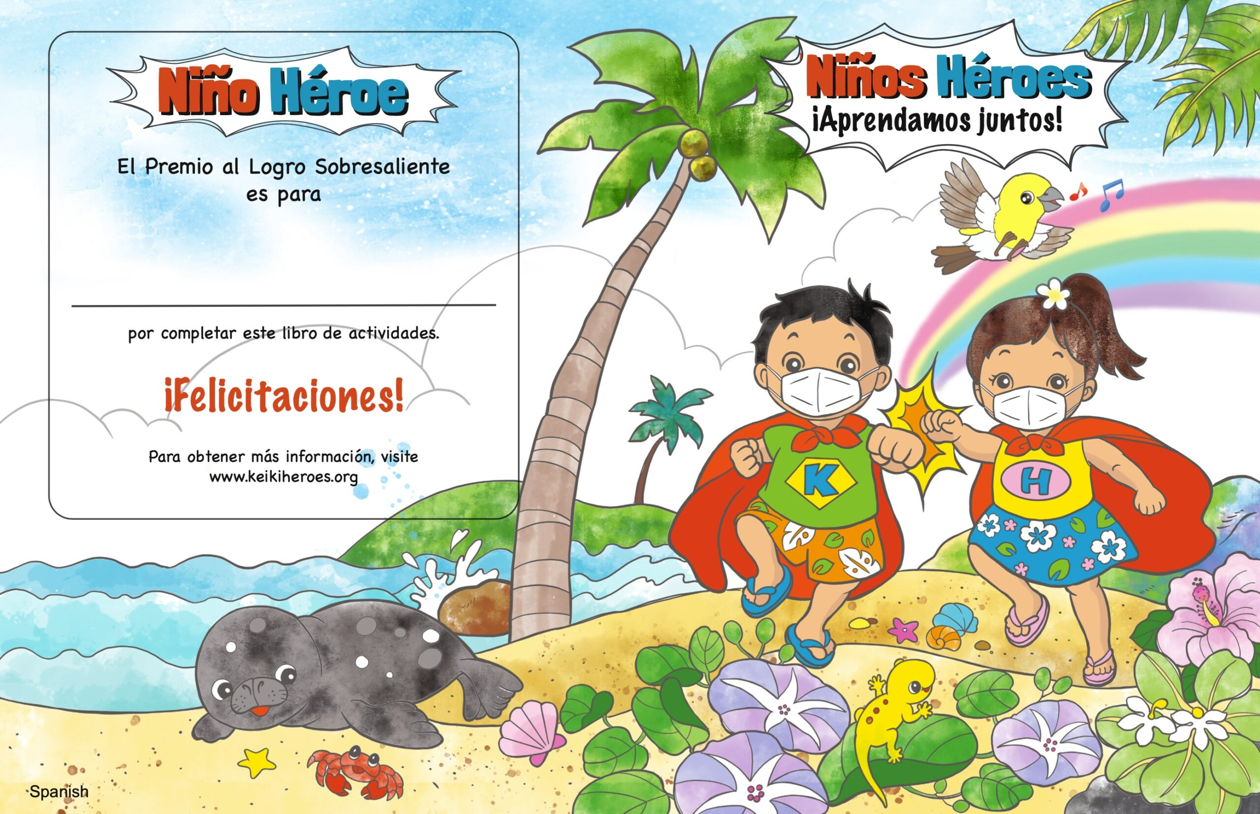 Activity Book – Español Spanish
