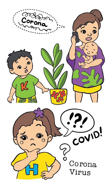 Corona Virus Keiki Heroes