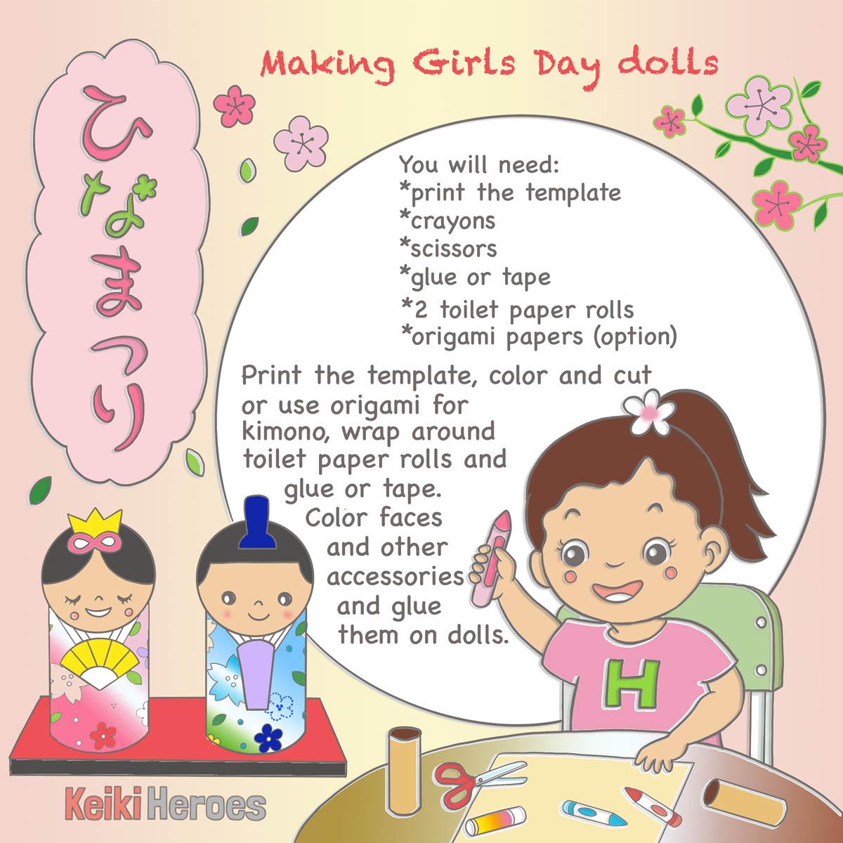 Activity – Make A Girls Day Doll